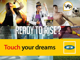Campagne: Yep by MTN, Directeur artistique: Bibi benzo, Photographe: Zacharie Ngnogue, Agence: MW DDB, Client: MTN CAMEROON