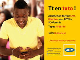 Campagne: get rady for the world, Directeur artistique: Bibi benzo, Photographe: Zacharie Ngnogue, Agence: MW DDB, Client: MTN CAMEROON
