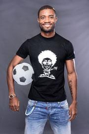 Footballeur Aurelein Chedjou pour la marque DND Collection
