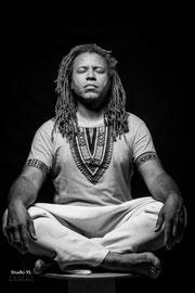 Manuel Wandji (Wambo) Artiste musicien, danseur et producteur, © Zacharie Ngnogue