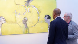 "Exposition ""Trois"", Joel Mpah Dooh"