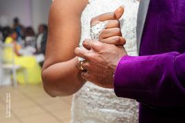 Photographie de mariage, détails couple