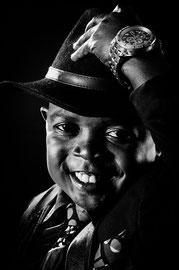 Dieunedort Tcheumtchoua, Acteur, comedien camerounais, © Zacharie Ngnogue