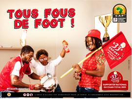 Campagne: CHAN2020, Marque: 33 Export,  Photographe: Zacharie Ngnogue, DA: Julien Serge Thomas PICKER, Agence: voodoo, Client: Brasserie du cameroun