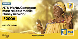 Campagne: MTN20, Directeur artistique: Bibi benzo, Photographe: Zacharie Ngnogue, Agence: MW DDB, Client: MTN CAMEROON, Année: 2020