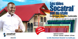Campagne: Tole SOCATRAL, Directeur artistique: Bibi Benzo, Photographe: Zacharie Ngnogue, Agence: MW DDB, Client: SOCATRAL
