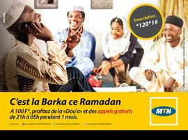 Campagne: Promo ramadan 2014, Directeur artistique: Bibi benzo, Photographe: Zacharie Ngnogue, Agence: MW DDB, Client: MTN CAMEROON