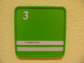 Schild Gruppenraum 3