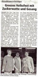 10/1999 Extra Blatt