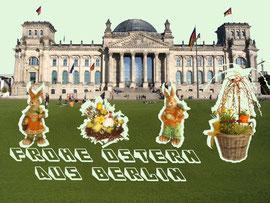 Osterglückwunsch aus Berlin