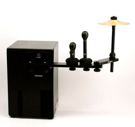 cajon sound bridge shaker jingle splash cymbal zusatzinstrument add on spielen weltneuheit tools
