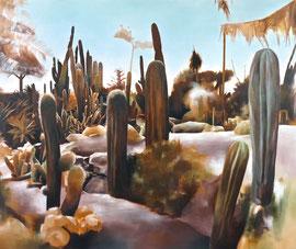 Kaktus I  110 x 130 cm