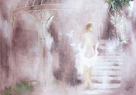 Fresko Sommernacht  70 x 100 cm
