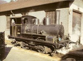 Werklok E 2/2 9  (nr.2168) der Eisenwerke Von Roll in Choindez von 1911
