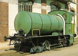 Feuerlose Dampflokomotive Nr. 2 von SLM, 3. 5. 1982