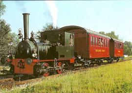 """Lok """"Zephyr"""" Bn 2 bzw. E 2/2, älteste betriebsfähige Dampflok der Schweiz"""