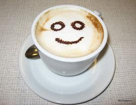 Der lächelnde Cappucino!