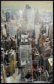 titre : ( Manhattan vue du ciel)