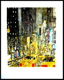 titre : taxi jaune 1