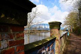 Brücke über die Weser