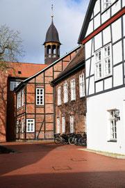 Im Ortskern von Nienburg