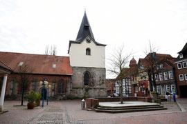 Marktplatz von Neustadt am Rübenberge