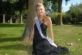 Céline Bourdelle - Miss Montreuil 2007 - Echarpe du Mérite Artistique
