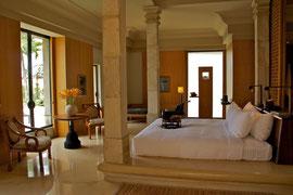 Java, Borobudur: a suite at the Amanjiwa hotel