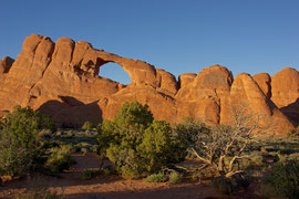 Moab, Utah, Arches National Park: Skyline Arch