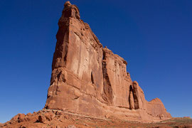 Moab, Utah, Arches National Park: Courthouse Towers