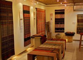 Bali, Ubud: the Threads of Life textile boutique at 24 Jalan Kajieng