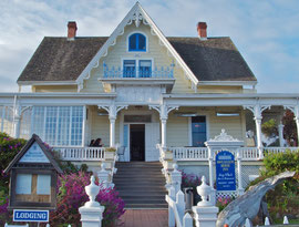 California, Mendocino: the MacCallum House Inn