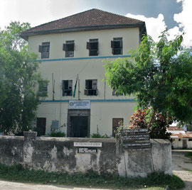 Tanzania, Zanzibar, Stone Town: the former guest-house loaned by the Omani sultan, Seyyid Said, to Dr. David Livingstone, as he prepared for his expedition to the interior of Africa