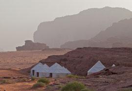 Jordan, Wadi Rum: tourist campsite