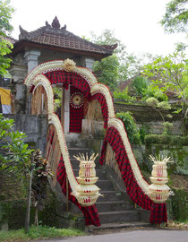 Bali: decoration for a wedding