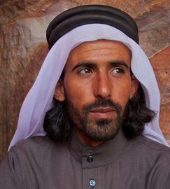 Jordan, Petra: a Bedouin named Anwar