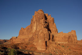 Moab, Utah, Arches National Park: Sheep Rock (?)