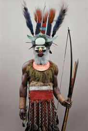 PNG, Southern Highlands, Mendi tribe: a man named Kongel from Tente village