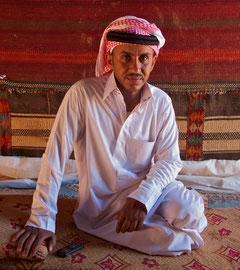 Jordan, Wadi Rum: Khalid Aoudh, our Bedouin guide