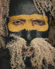 PNG, Eastern Highlands: a man from the Lufa area
