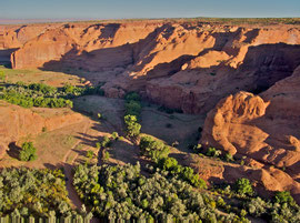Canyon de Chelly, Arizona: view from White House Overlook