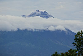 Java: Mt. Merapi, active volcano last erupted Nov. 2010