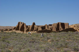 Chaco Canyon, New Mexico: Pueblo Bonito