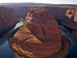 Page, Arizona: Horseshoe Bend on the Colorado river