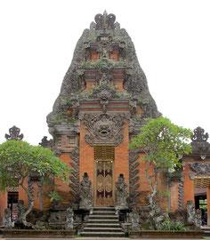 Bali, Peliatan: the Puri Agung Peliatan Palace temple