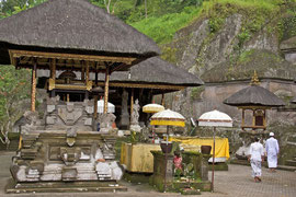 Bali, Paruman (pavilion) at Gunung Kawi Temple
