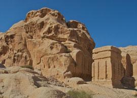 Jordan, Petra: Djinn block (50 BC - 50 AD)