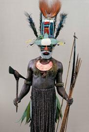 PNG, Southern Highlands: a Mendi tribesman