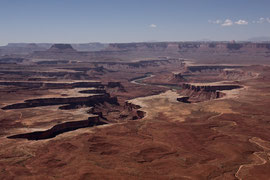 Canyonlands National Park, Utah: view from Green River Overlook