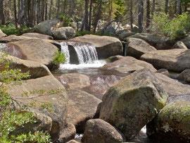 California, Yosemite NP: the Dana fork of theTuolumne River, en route to Tioga Pass